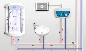 Как подключить проточный электрический водонагреватель
