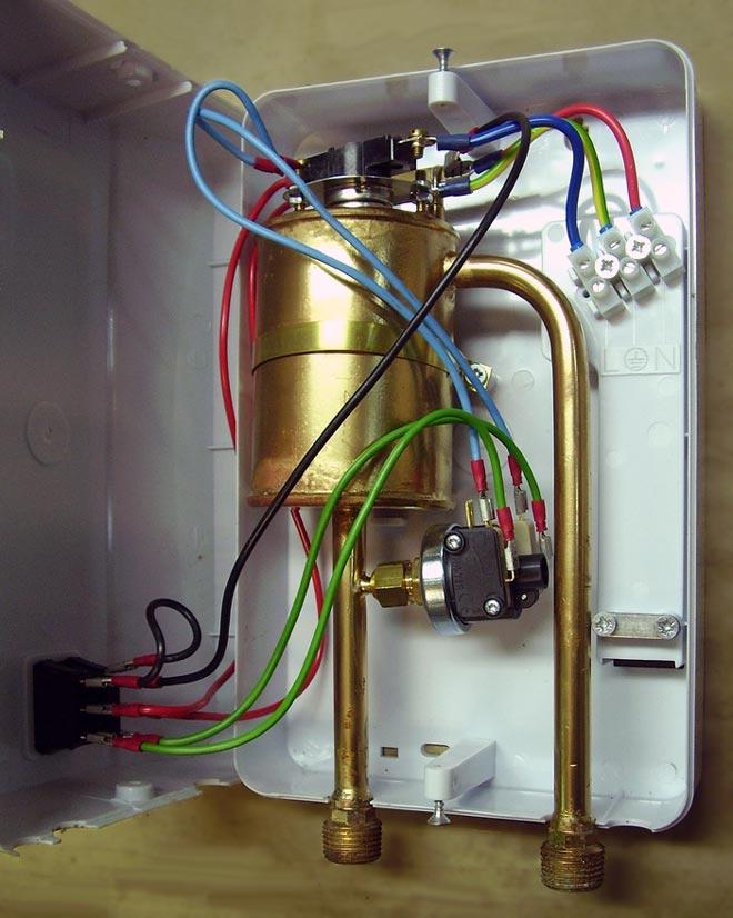 устройство водонагревателя Thermex Stream
