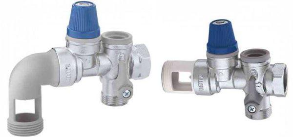 Узлы безопасности для водонагревателей