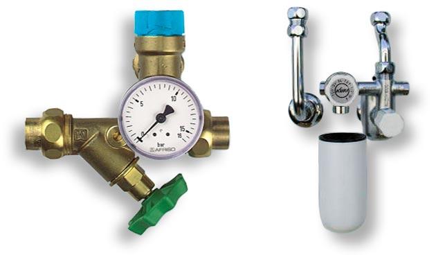 оригинальные узлы безопасности для водонагревателей